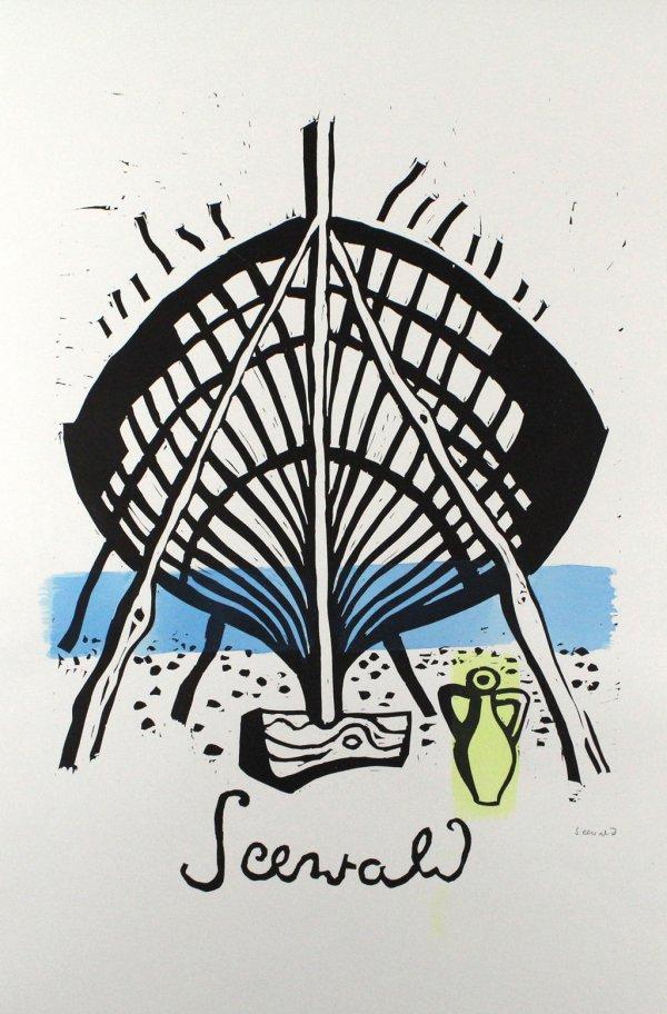 Bootswerft Korfu by Richard Seewald