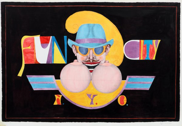 Ny Men (fun City) by Richard Lindner at