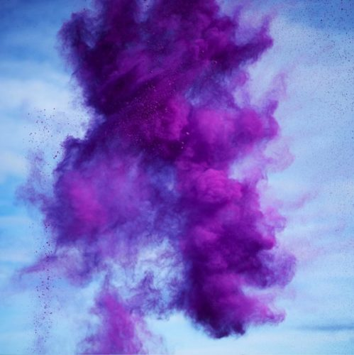 Paint Pigment Photograph, Dioxazine Violet by Rob and Nick Carter