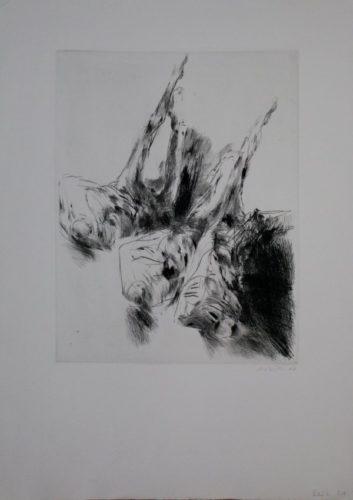 Drei Figurinen by Roland Dörfler