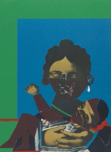 Mother And Child by Romare Bearden at