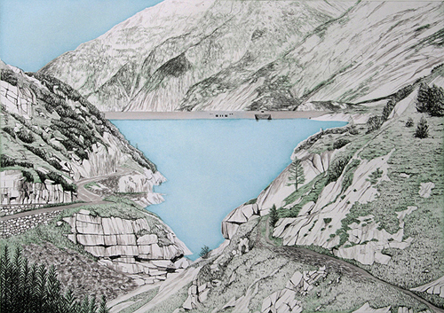 Grimselpass 1 by Rosie Snell at