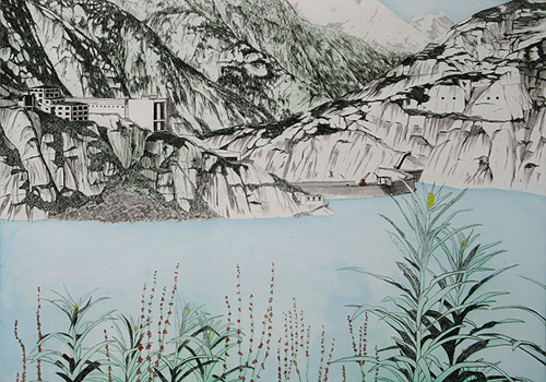 Grimselpass 2 by Rosie Snell at