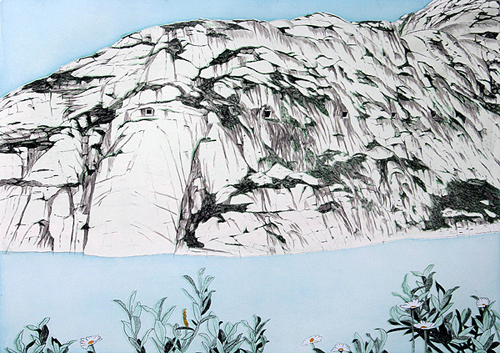 Grimselpass 3 by Rosie Snell at