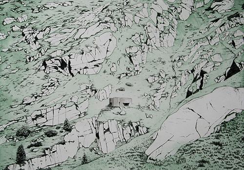Grimselpass 4 by Rosie Snell at