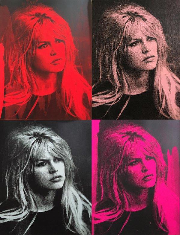Brigitte Bardot Portfolio (4) by Russell Young