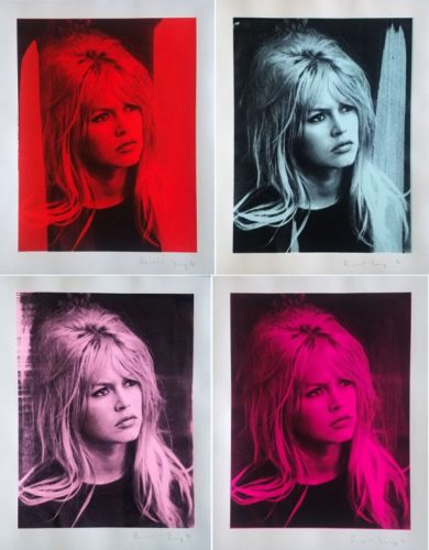 Brigitte Bardot Portfolio by Russell Young