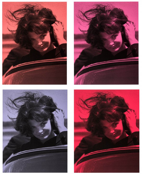 Jackie O Portfolio by Russell Young
