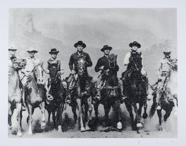 Magnificent Seven by Russell Young