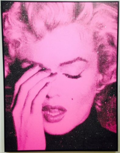 Marilyn Crying by Russell Young at