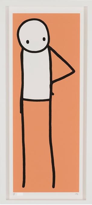Hip (orange) by STIK