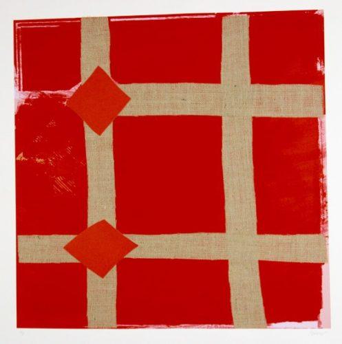 Red Melange by Sandra Blow at
