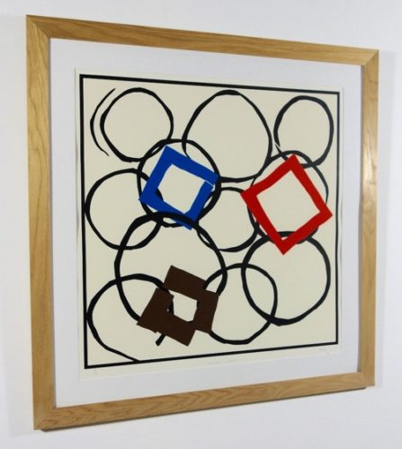 Squares In Orbit by Sandra Blow at