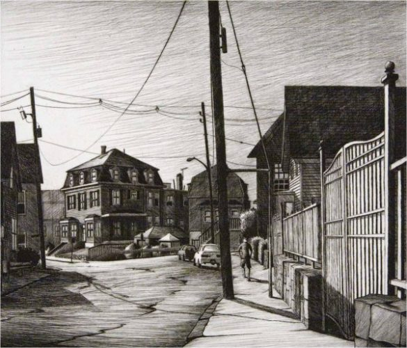 Morning, Prospect Street (gloucester, Ma) by Sean Hurley