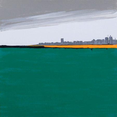 Landschaften – 3 by Sigrid Nienstedt at