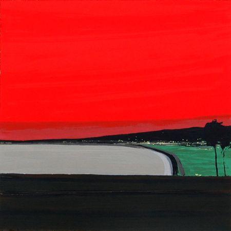 Landschaften – 6 by Sigrid Nienstedt at