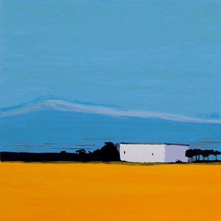 Landschaften – 7 by Sigrid Nienstedt at