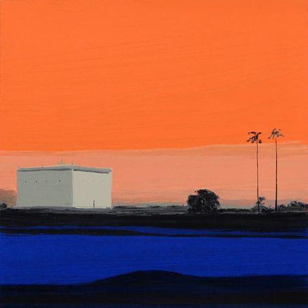 Landschaften – 8 by Sigrid Nienstedt at