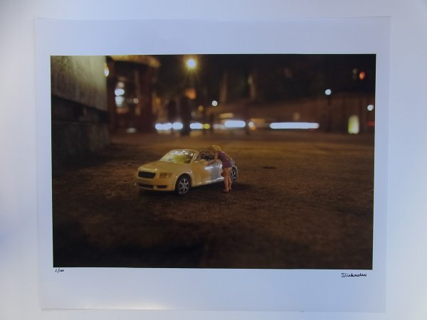 For Sale / Sold by Slinkachu at