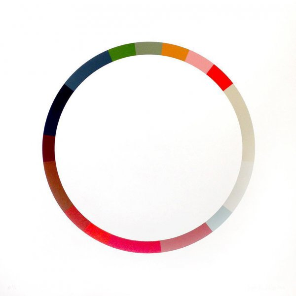 Colour Wheel 6 by Smallhorn Sophie