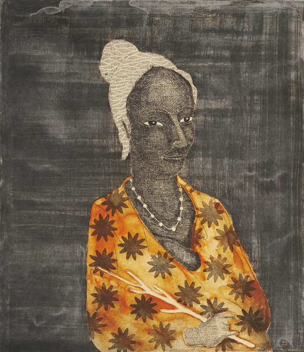 Begum Starburst by Stephen Chambers RA