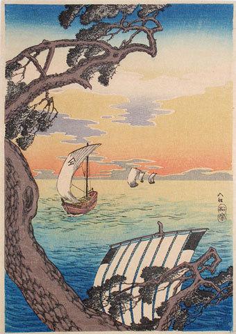 Coming Ships by Takahashi Hiroaki (Shotei)
