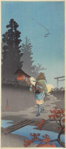Dusk (tasogare) by Takahashi Hiroaki (Shotei)