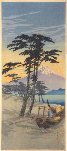 Mt. Fuji From Miho by Takahashi Hiroaki (Shotei)