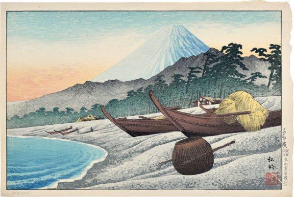 Senbonhama Beach by Takahashi Hiroaki (Shotei)