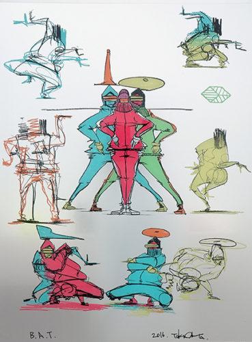 B-boy  Abstract 2 by Taku Obata at