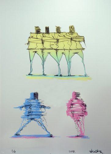 B-boy  Abstract 3 by Taku Obata at