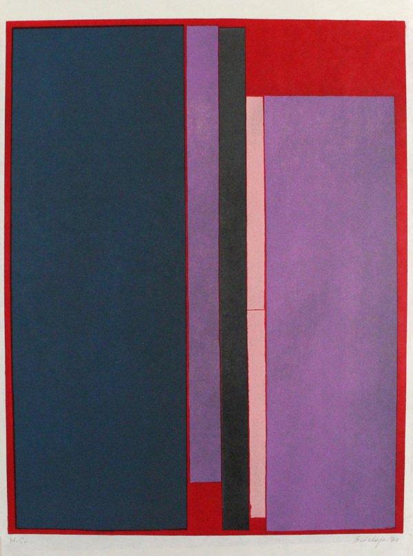 Composizione A Colori by Toti Scialoja