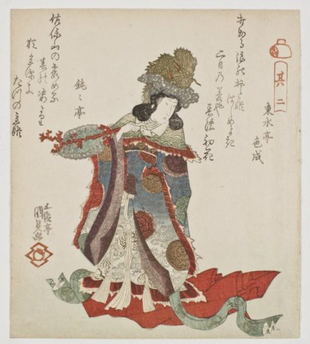 The Dragon Princess Otohime by Utagawa Kunisada