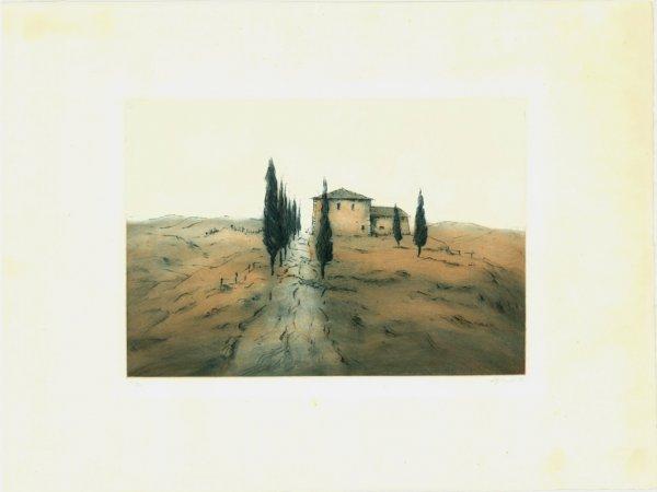 Toskanische Landschaft / Tuscan Landscape by Ute Gortner