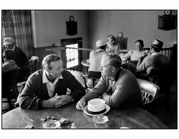 Arnold Palmer And Jack Nicklaus by Walter Iooss