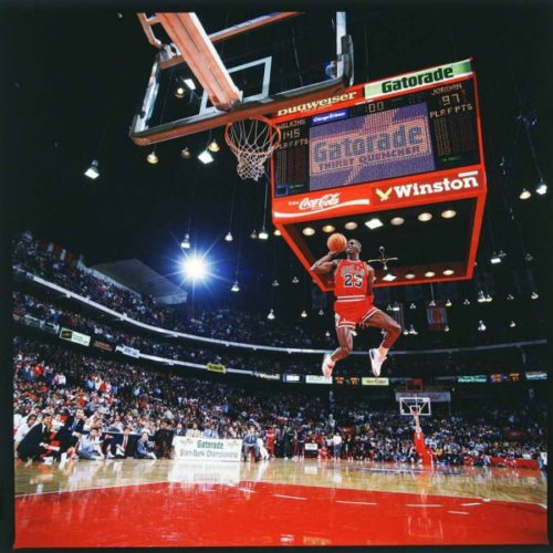 Michael Jordan by Walter Iooss