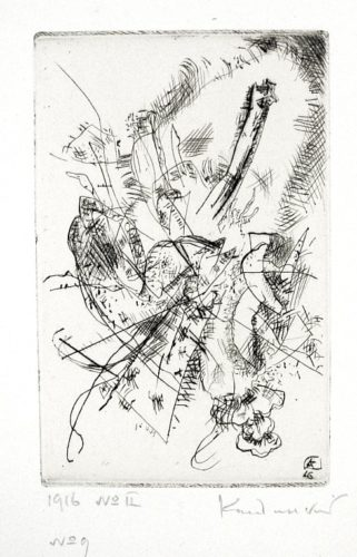 Etching 1916 Number Ii by Wassily Kandinsky
