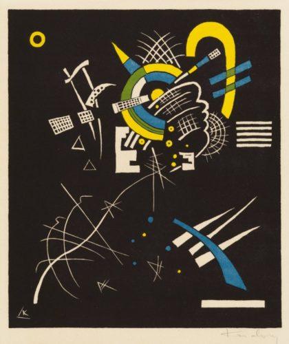 Kleine Welten Vii by Wassily Kandinsky at