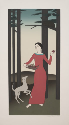 Persephone by Will Barnet at