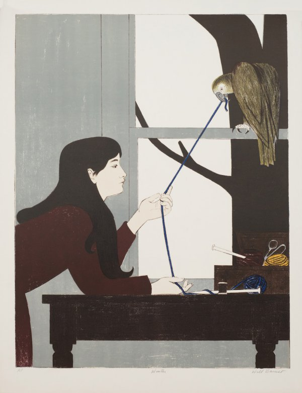 Silent Seasons – Winter by Will Barnet