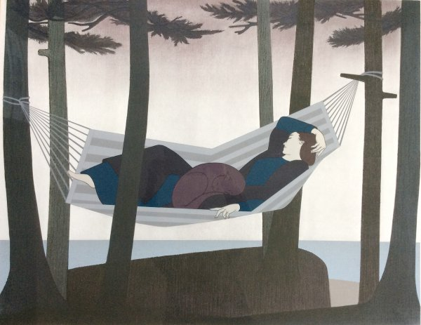Summer Idyll by Will Barnet