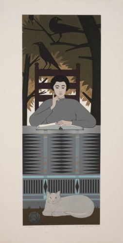 Totem by Will Barnet at