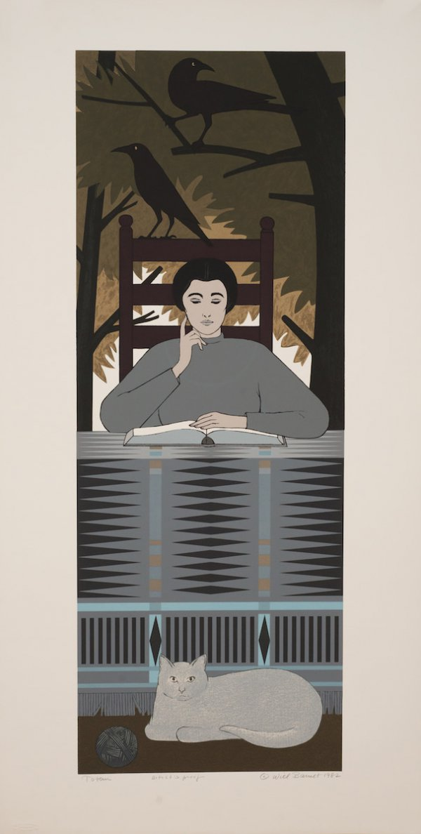 Totem by Will Barnet