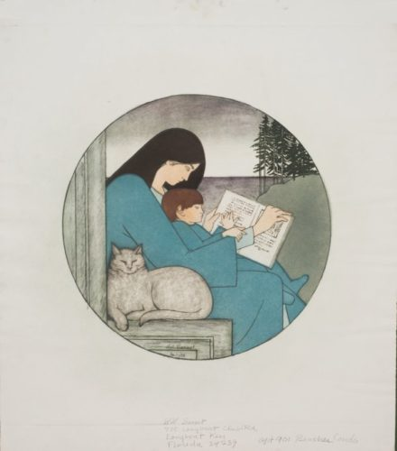 Twilight by Will Barnet at