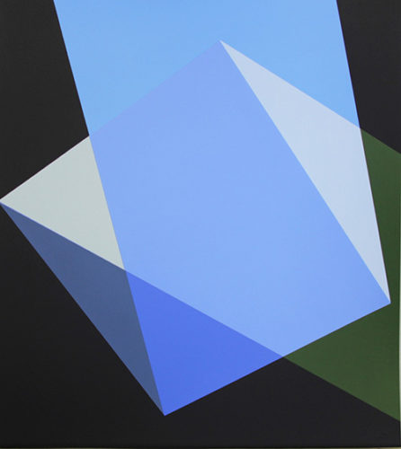 Quartet, Blue by Willard Boepple