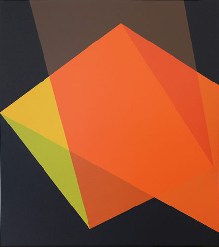 Quartet, Orange by Willard Boepple