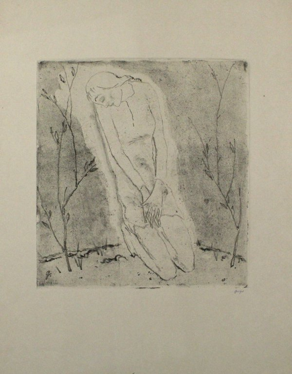 Kniende (grosse Fassung) / Kneeling Woman (large V by Willi Geiger