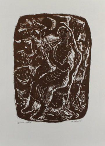 Orpheus by Willi Geiger
