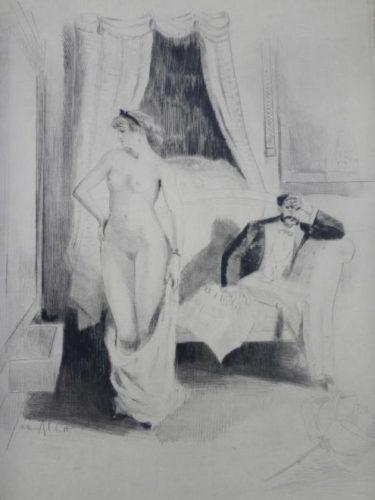 Eaux-fortes Pour Nana, Par William Ablett by William Ablett