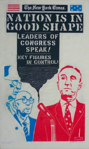 Leaders Of Congress by William Kent at Marc Chabot Fine Arts